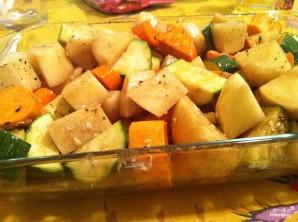 Картофель с овощами запеченный - фото шаг 3
