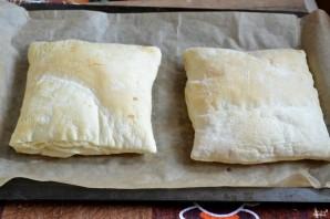 Торт из слоеного бездрожжевого теста - фото шаг 4
