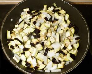Салат с баклажанами и курицей - фото шаг 6