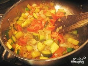 Палтус с овощами - фото шаг 3