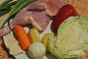 Щи со свежей капустой - фото шаг 1