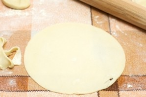 Лепешки с начинкой - фото шаг 9