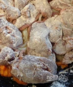 Печень в сливках (оригинальный рецепт) - фото шаг 5