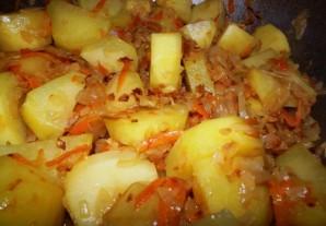 Вегетарианский бигус - фото шаг 6