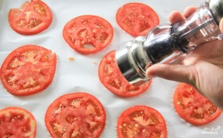 Баклажаны с моцареллой и помидорами - фото шаг 5