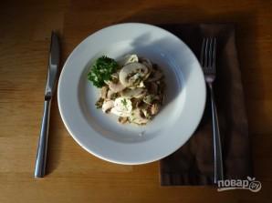 Салат из свежих шампиньонов - фото шаг 4