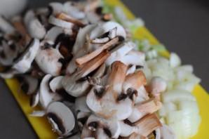 Сырный крем-суп с грибами   - фото шаг 1