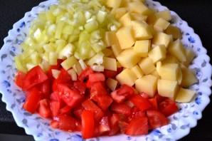 Диетическое овощное рагу в мультиварке - фото шаг 3