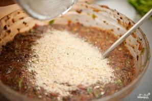 Вегетарианские бургеры с фасолью - фото шаг 4