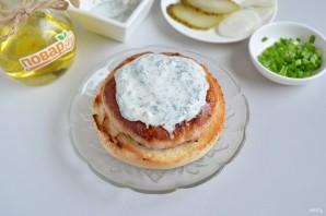 """Куриный бургер """"Тандури"""" - фото шаг 8"""