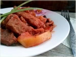 Мясо под сладким соусом в мультиварке  - фото шаг 6