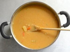 Суп с белой фасолью и беконом - фото шаг 8