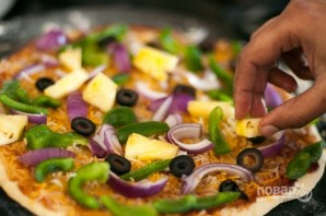 Бездрожжевая пицца - фото шаг 12