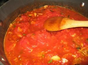 Яичница с томатной пастой - фото шаг 2