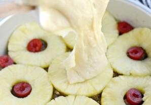 Перевёрнутый ананасовый кекс - фото шаг 5