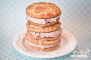 Печенье с мороженым - фото шаг 6