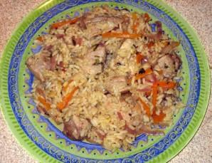 Свинина с рисом и овощами - фото шаг 6