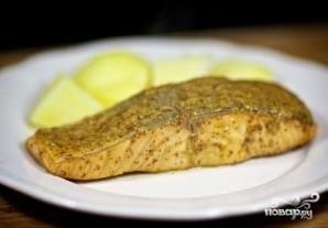 Жареный лосось - фото шаг 9
