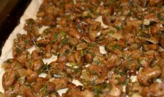 Пирог с грибами и картошкой - фото шаг 4