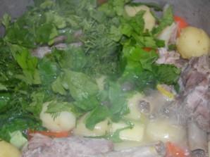 Овощное рагу с гусиным мясом - фото шаг 5