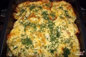 Картошка с чесноком и сыром - фото шаг 7