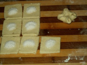 Творожные конвертики с сахаром - фото шаг 10