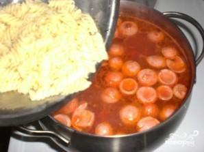 Итальянский суп с сосиской - фото шаг 7