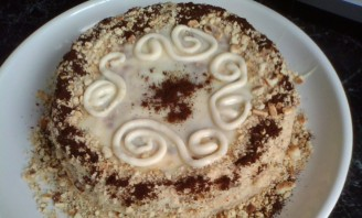 """Торт """"Cекунда"""" без выпечки - фото шаг 5"""