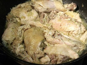 Курица с грецкими орехами - фото шаг 8