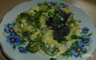 Брокколи в сырном соусе - фото шаг 3