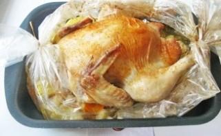 Курица в духовке с овощами - фото шаг 9