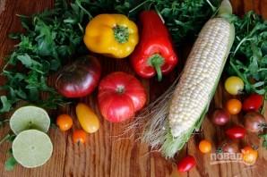 Салат с рукколой - фото шаг 1