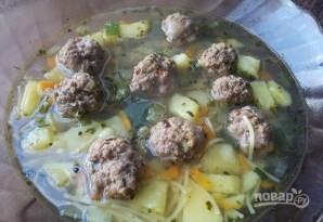 Суп с фрикадельками из говядины - фото шаг 7