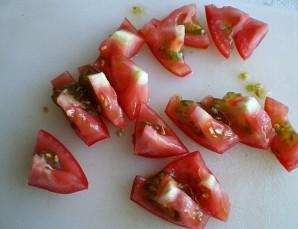 Камбала с овощами в духовке - фото шаг 5