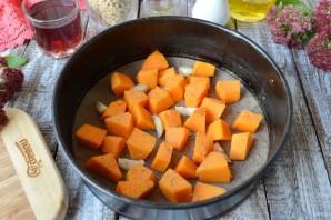 Перловая каша с фасолью, тыквой и беконом - фото шаг 3
