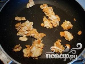 Яблочные конвертики с миндалем и изюмом - фото шаг 5