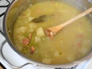 Гороховый суп-пюре с беконом и картофелем - фото шаг 8