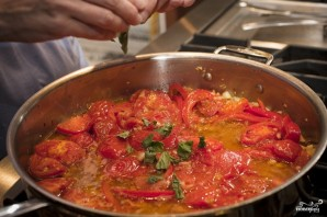 Паста с помидорами и чесноком - фото шаг 9