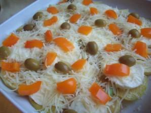 Запеканка с курицей и овощами - фото шаг 10