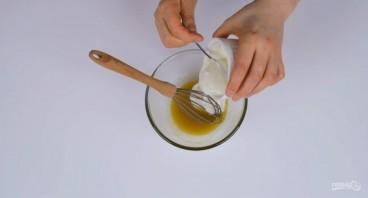 Простой и легкий салат без майонеза - фото шаг 2