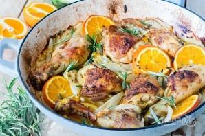 Запеченная курица с апельсинами и фенхелем - фото шаг 4