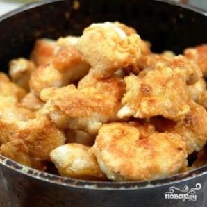 Куриное филе с арахисом - фото шаг 9