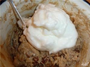 Пирог с орехами и сухофруктами - фото шаг 7