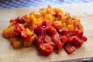 Салат с запеченными овощами - фото шаг 8
