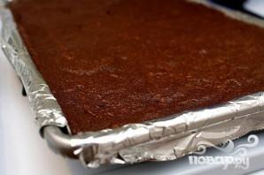 Шоколадные пирожные с мятным ликером - фото шаг 2