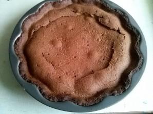 Шоколадный чизкейк из творога - фото шаг 9
