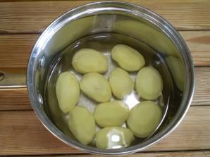 Картошка с салом на шпажках - фото шаг 3
