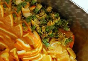Варенье из одуванчиков с апельсином - фото шаг 1