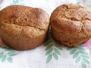 Хлеб с гречневой мукой и семенами - фото шаг 5