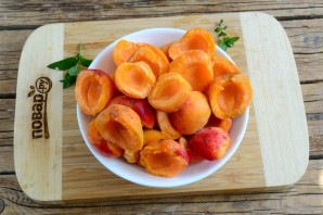 Абрикосовый джем с апельсином на зиму - фото шаг 2